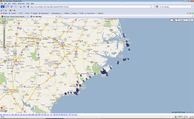 Nc tides tidal forecasts at fishing for Fishing tide chart